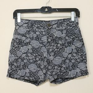 Urban Outfitters BDG High Waist Shorts Floral 26